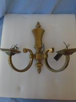 Empire 2 ágú  bronz vagy réz falikar igazán igényes munka nagyon nehéz igazi antik darab...