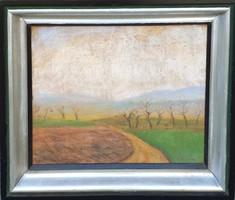 Rippl-Rónai József (1861 - 1927): Tavaszi tájkép