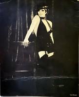 Liza Minelli original foto hatlap alairassal