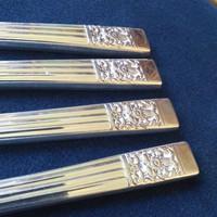 4 db ezüstözött kés exluzív kategória