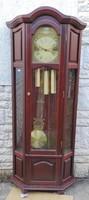 Àlló óra negyedes szerkezet,Vitrin óra! 3 súlyos Német jelzett szerkezet