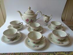 Zsolnay kolozsvári teás készlet