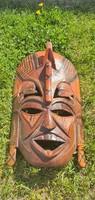 Afrikai fa maszk/fali dísz