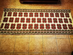 Kelim, kilim wall mat, wall protector 180 x 74 cm + fringe in perfect condition