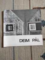 Deim Pál kiállítási katalógus, vezető füzetke