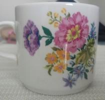 Régi Alföldi virágos csésze