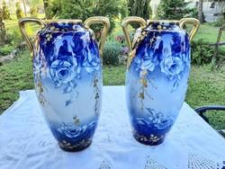 Carl Knoll  váza pár, 50 cm