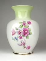 1E227 Régi Hollóházi porcelán váza 17 cm