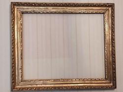 Antik Bíedermeier Ökörszem és képkeret,festmény tükör,képóra,lemez kép,bíder festménynek szent kép