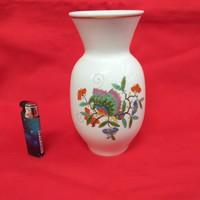 Meissen Aranyozott Indiai Mintás Ritka Váza.18.5 cm