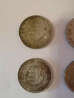 4 darab ezüstpénz egyben