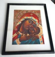 Fali szentkép, Szűz Mária a kis Jézussal