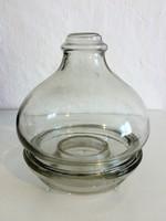 Régi kétrészes üveg légyfogó