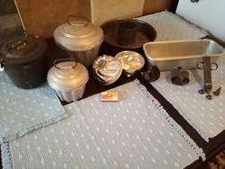 Sütemény készítő kellék gyűjtemény
