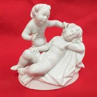 Rosenthal Puttó,Gyerek Figurális Szobor. G.Oppel.13 cm