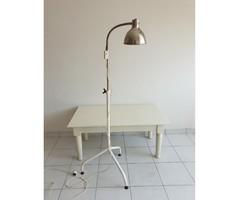 Régi retro orvosi kórházi industrial lámpa ipari állólámpa loft