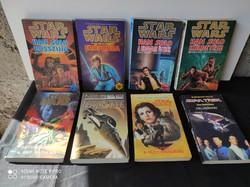 STAR WARS / STAR TREK regények egyben!