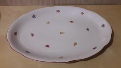 Zsolnay, ovális kínáló tál, asztal közép