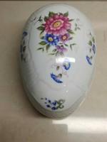 Hollóházi porcelán bonbonier nagyon szép állapotban