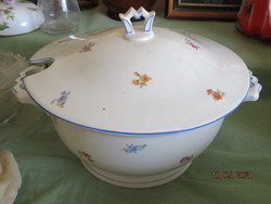 Zsolnay leveses tál 20-30 as évek különleges art deco  formával
