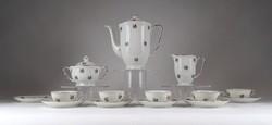 1E246 Régi cseh Epiag porcelán kávéskészlet