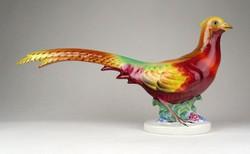 1E300 Herendi nagyméretű porcelán fácán 32.5 cm