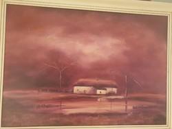 Csóka L. Festőművész által jelzett festmény