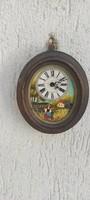 Fali óra,Német óra minta óra pici kézi festett szàmlap