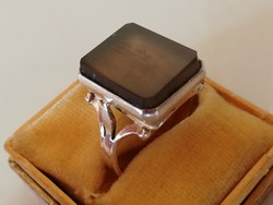 Régi orosz ezüst gyűrű (875)
