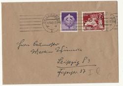 1942 boriték német harmadik birodalom Deutsche Reich ritka horogkeresztes SA bélyeg futott 2. vh.