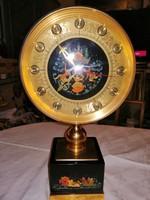 Orosz kézzel festett Retró  asztali óra