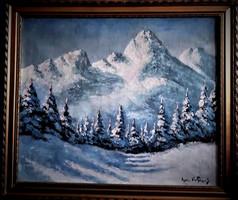 Eladó a képen látható Vasvári Wertheimer Sándor festmény