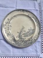 Antik angol 27cm kínáló tányér Emalkin & Co Lisbon