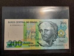 Brazília 200 Cruzeiros UNC