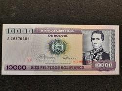 Bolívia 10000 Pesos UNC