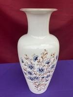 Zsolnay Búzavirág mintás váza 42 cm