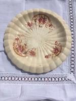 Antik angol Poppy  sütis, torta kínáló antik jelzett