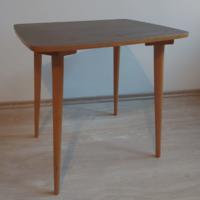 Mid-century kisasztal dohányzóasztal asztalka