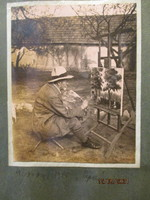 Ujváry Ignác 1860-1927 festőművész és fia Ujváry Ferenc 1898-1971 festőművész  89 db-os fotóalbuma