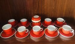 Eladó hollóhàzi kávés készlet