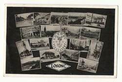 1938 Losonc visszatér Képeslap Pécsre Felvidék felszabadulásának emlékére 1939 VI.