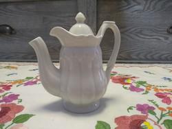 Zsolnay Hófehér mini kávé kiöntő, kínáló