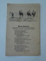 II. világháború Német levelezőlap képeslap wehrmacht
