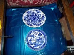 Nagyon szép kékszínű Falitányérok