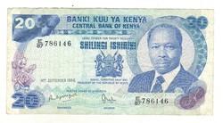 20 shilingi 1986 Kenya