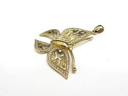 Arany pillangó medál (K-Au88051)