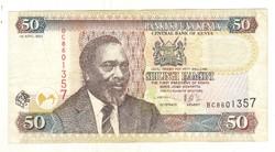 50 shilingi 2003 Kenya