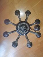 Csodás 8 (nyolc) ágú antik csillár, csak felszerelni és már működik is!