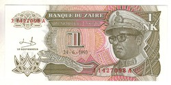 5 új likuta 1993 Zaire UNC