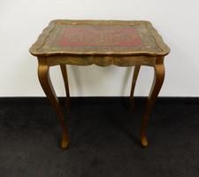 Neobarokk festett asztal